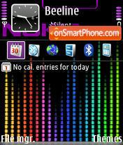 Capture d'écran Nokia eq thème