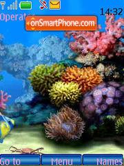 SWF Aquarium theme screenshot
