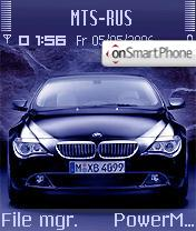 BMW 645 theme screenshot