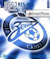 FC Zenit theme screenshot