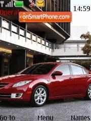 Mazda 6 tema screenshot