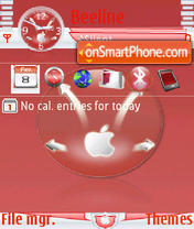 Apple v2 s60v3 theme screenshot