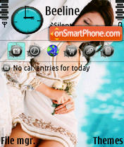 Beautiful v2 s60v3 es el tema de pantalla