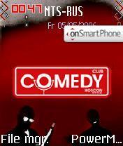 Comedy Club es el tema de pantalla