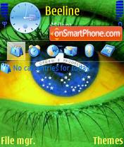 Brasileye theme screenshot