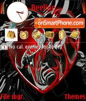 Heart tema screenshot