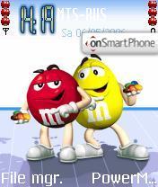 M & M theme screenshot