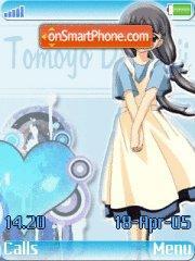 Tomoyo 01 es el tema de pantalla