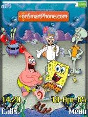 Spongebob Gang es el tema de pantalla