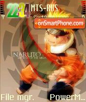 Amazing Naruto theme screenshot
