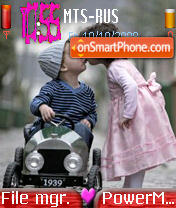 Love Kids 01 theme screenshot