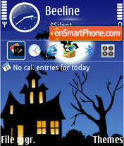Halloween 05 theme screenshot