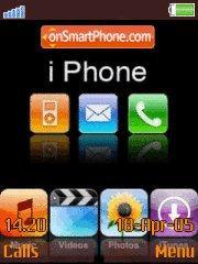 Iphone Beauty theme screenshot