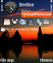 Nature Reflections 01 theme screenshot