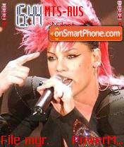Pink Punk es el tema de pantalla