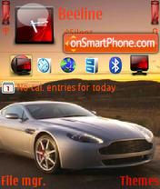 Скриншот темы Aston Martin V8