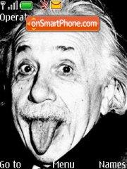 Скриншот темы Albert Einstein