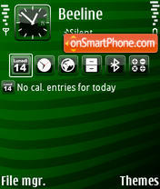 Events theme screenshot