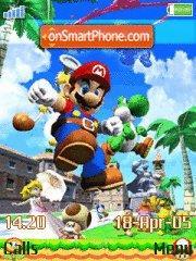 Mario Way es el tema de pantalla