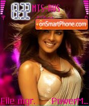 Priyanka Chopra 01 theme screenshot