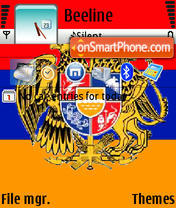 Armflag theme screenshot
