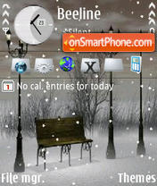 Snowfall es el tema de pantalla