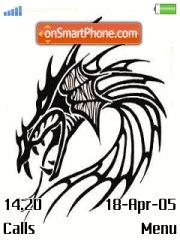 Drawing Dragon theme screenshot