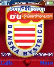Скриншот темы FK Dukla Banska Bystrica