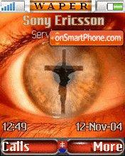 Jesus Eye 8 theme screenshot