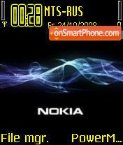 Nokia 6234 tema screenshot