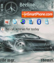 Benz DI QVGA theme screenshot