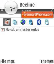 Скриншот темы Office