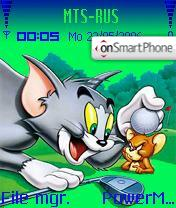 Tom&Jarry theme screenshot