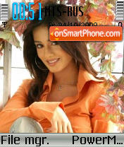 Скриншот темы Amrita Rao 05