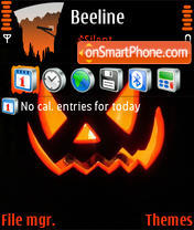 The 31 October theme screenshot