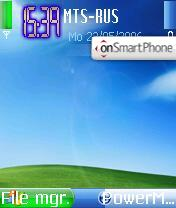 XP-SP2 theme screenshot