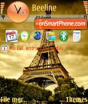 Eiffel theme screenshot