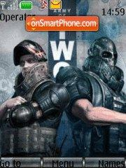 Army of two theme screenshot