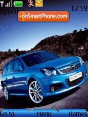 Opel Zafira Theme-Screenshot
