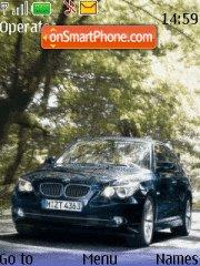 BMW 530 theme screenshot