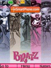 Bratz theme screenshot