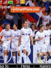 Russia national football Team theme screenshot