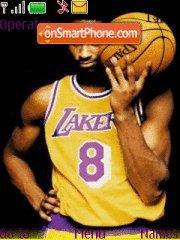 Kobe Bean Bryant theme screenshot