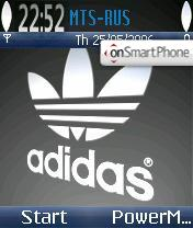 Скриншот темы Adidas Originals v2