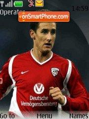 Miroslav Klose theme screenshot