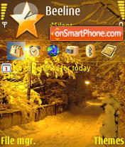 Lamp tema screenshot