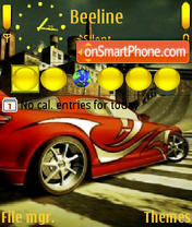 Скриншот темы Need For Speed