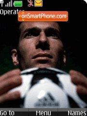 Zinedine Zidane theme screenshot
