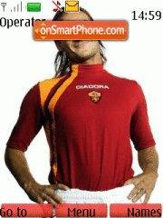 Скриншот темы Francesco Totti