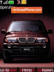 BMW X5 theme screenshot
